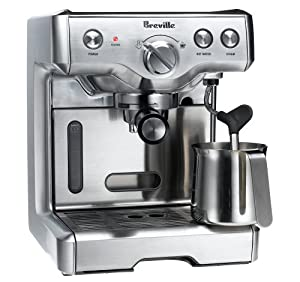 Breville 800esxl 15-bar triple-priming die-cast espresso machine best price