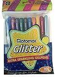 Xtra Sparkle Glitter Gel 10 Colour Rotomac Sparkle