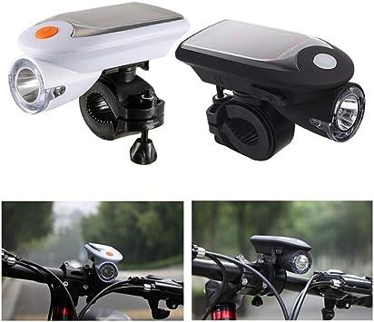 ReBlue - Linterna solar para bicicleta (900 linternas, recargable ...