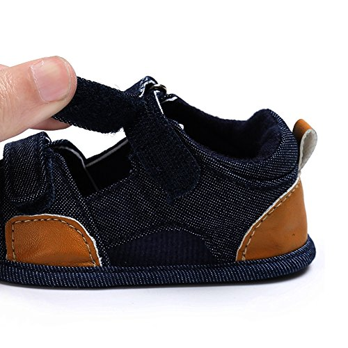Domybest , Baby Jungen Lauflernschuhe blau dunkelblau Dunkelblau