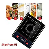 Denshine Induction Cooktop, Induction Hot Plate Portable Induction Cooktop Induction Burner Digital Electric Induction Cooktop/ Portable Stove Burners for Cooking 2000W, 110V