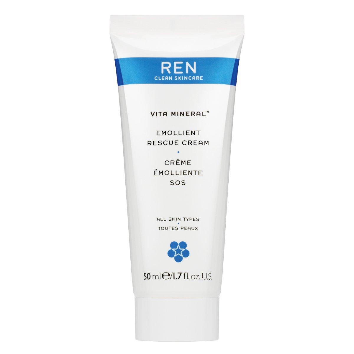 REN Vita Mineral Emollient Rescue Cream, 1.7 Ounce