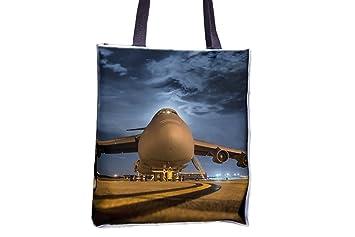Avión, avión, Jet, base aérea, Aeropuerto Allover impresa ...