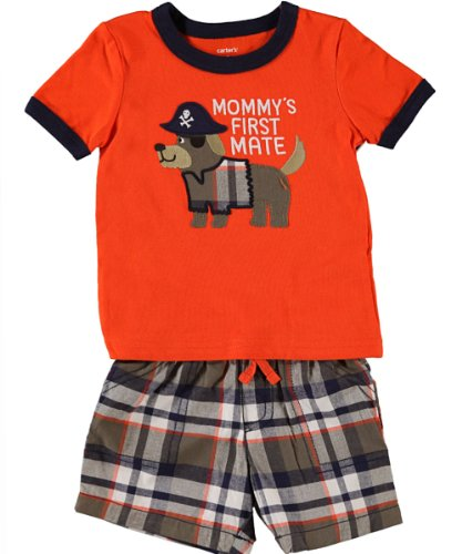 carters-mommys-first-mate-pirate-puppy-short-set-3m-24m-6-months