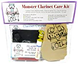 Monster Clarinet Care and Cleaning Kit   Wood or Composite, Cork Grease, and More! Everything You Need to Take Care of Your Clarinet