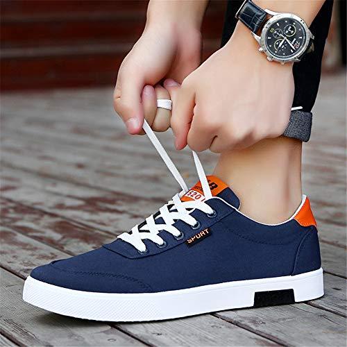 da 38 Sneaker 44 Scarpe da Lace populalar Up Arancione EU Uomo Basse aTqOwx5Sn