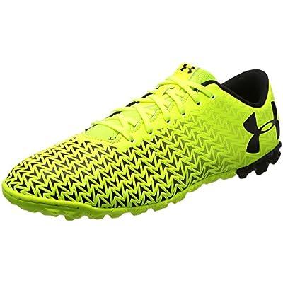 Under Armour UA CF Force 3.0 TF, Chaussures de Football Homme, Jaune (High-Vis Yellow), 42.5 EU