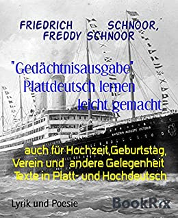 Amazoncom Gedächtnisausgabe Plattdeutsch Lernen Leicht