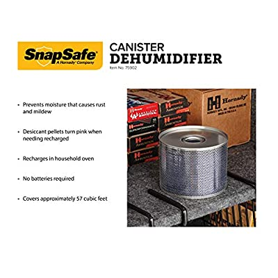 SnapSafe 75902  Safe Dehumidifier Lg Cylinder- Lifetime Use, 5-Inch diameter: Sports & Outdoors