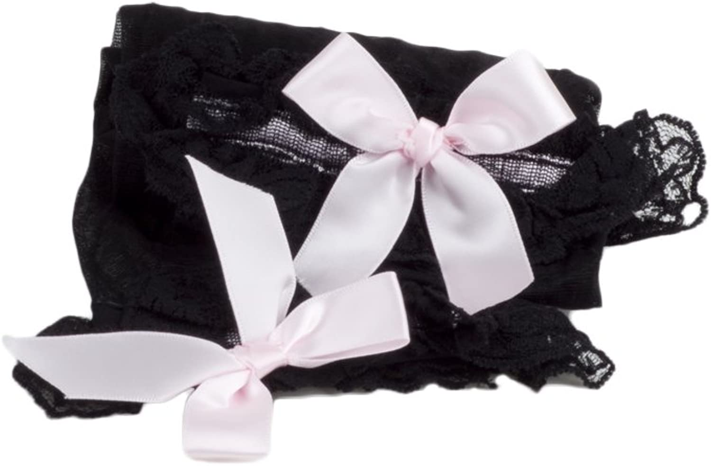 iB-iP Donna sheers elegante giapponese rosa bowknots a met/à coscia Calze Autoreggenti
