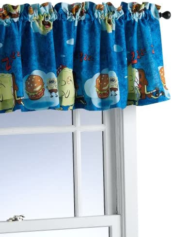 SpongeBob Squarepants Bed Bob Window Valance