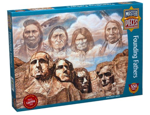 Founding Fathers Jigsaw Puzzle 550pc
