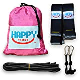 Happy Times Parachute Hammock and Tree Straps with