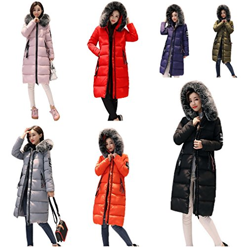 Invernale Ladies Verde Slimming Down Coat Thick Women Militare Giacca Lunga Bigood Parka 05TqFF