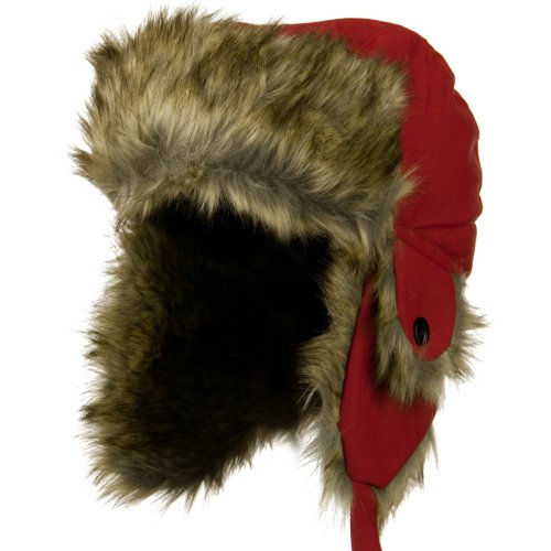 Youth Trapper Hat - Red...