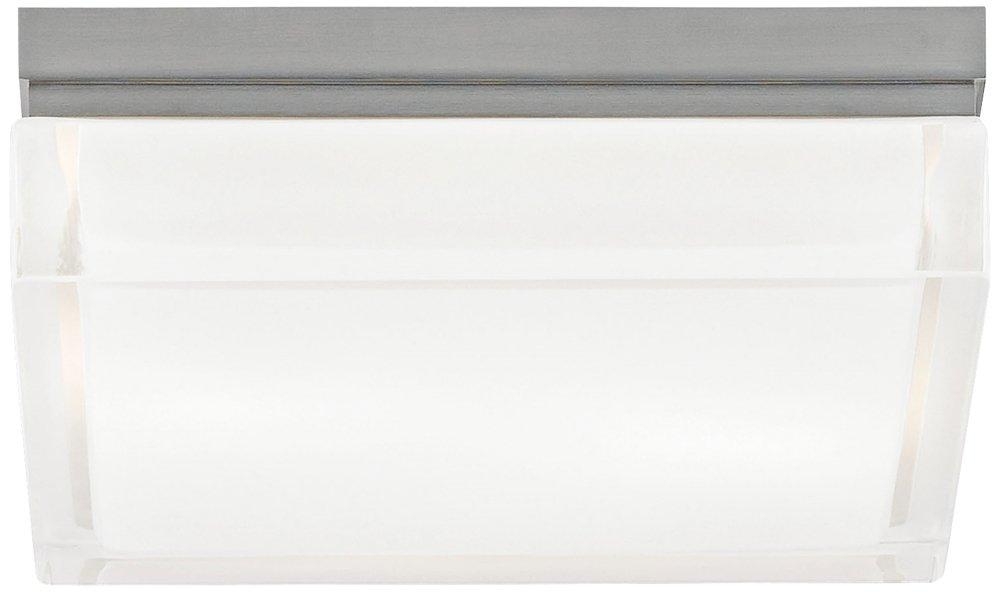 tech lighting 700bxls boxie ceiling large flush mount satin nickel flush mount ceiling light fixtures amazoncom