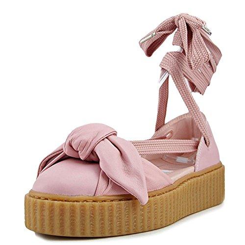 Us 9 Rosa Puma Zeppa Con Bow La Sandal Donna Creeper Sandalo TqwcfHwI