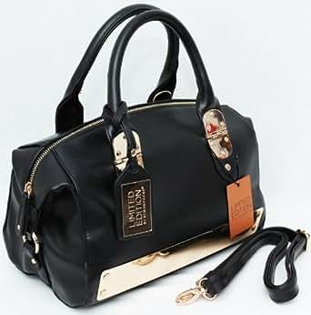 Primark - Bolso de tela para mujer negro negro XL