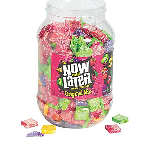 Bargain World Now & Later Assortment Candy Jar