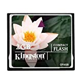 : Kingston 2 GB CompactFlash Memory Card CF/2GB