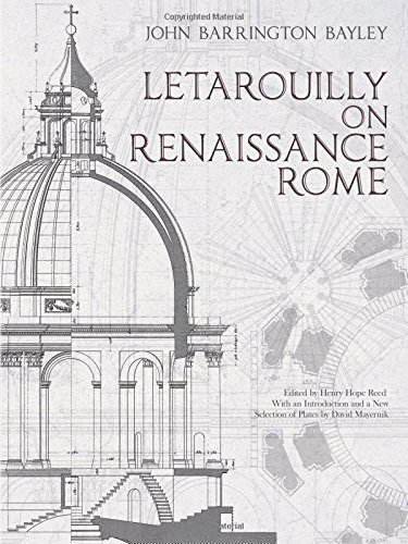 Download Letarouilly on Renaissance Rome (Dover Architecture) ebook