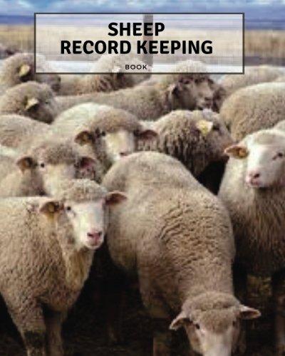 Sheep Record Keeping Book: Farm Cattle Flock Lambing | Journal Handbook Planning Spreadsheet | Farming Essentials | Breeding, Lambing, Health & Death Tracker | 8 x 10 (Volume 1)