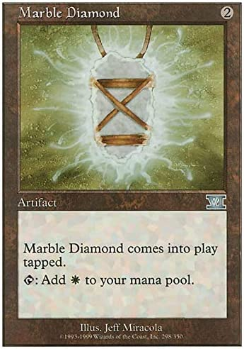 the Gathering Magic Sixth Edition by Magic the Gathering Marble Diamond