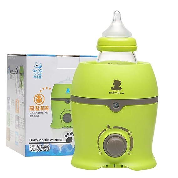 JCOCO Esterilizador de vapor de botella, calentador, leche ...
