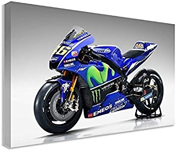 Movistar Yamaha yzr Giant Wall Art Poster Print A4 Sections or 1 Piece A3