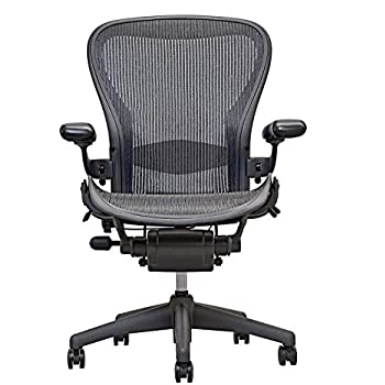 herman miller aeron executive office chairsize bfully adjustable armslumbar support