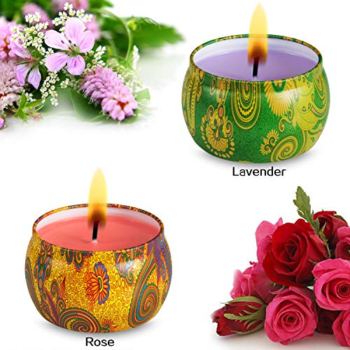 aroma therapy candle sets - 6