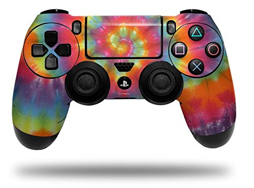 Tie Dye Swirl 107 - Decal Style Wrap Skin fits Sony PS4 Dualshock Controller (CONTROLLER NOT INCLUDED) by WraptorSkinz