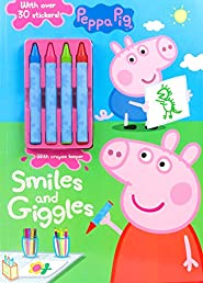 Peppa Pig Smiles and Giggles (Color & Activity With Crayons)