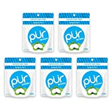 The PUR Company  | Sugar-Free + Aspartame-Free Count  | 100% Xylitol  | Peppermint | Vegan + non GMO  | 20 Count per Bag (Pack of 5, 100 Count)