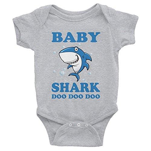 9dc8d4180b8 Baby Shark Doo Doo Doo Onesies-Funny Gift for Kids Babies from dad ...