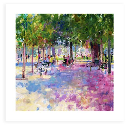 ArtWall 'The Balcony Table' Unwrapped Flat Canvas Artwork by