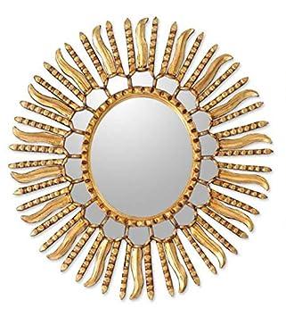 NOVICA MI0067 Winter Sun Mirror