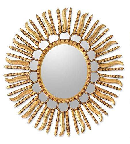 NOVICA MI0067 Winter Sun' Mirror