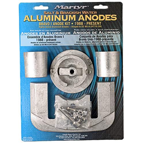 Martyr CMBRAVO1KITA Anodes Bravo 1 Anode Kit Aluminum