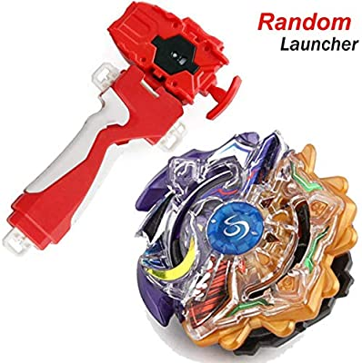 Bey Burst Blade Turbo Evolution Starter With Random Launcher B 00 Limited Duo Eclipse Sun Moon God Booster Battling Top God Bay 4d Bey Lr Launcher Spinning Toy Gaming Top Bey Battle Set