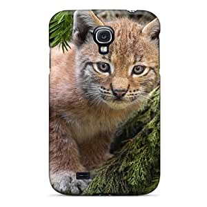 Galaxy S4 Cover Case - Eco-friendly Packaging(small Lynx Animals)
