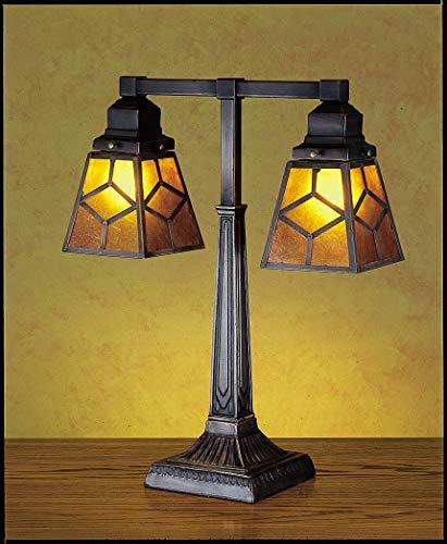 Southwest Mica Diamond Mission Table Lamp
