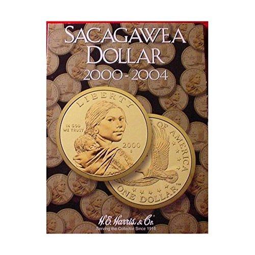 New Harris Sacagawea Dollar 2000-2004 Coin Folder 2715