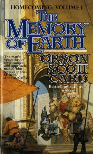book cover of The Memory of Earth