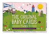 Milestone-Baby Twins Photo Cards, One Size