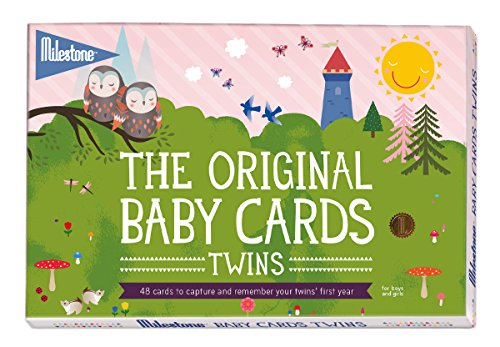 the-original-baby-cards-twins-by-milestone-48-photo-cards-in-a-gift-box-especially-created-for-paren