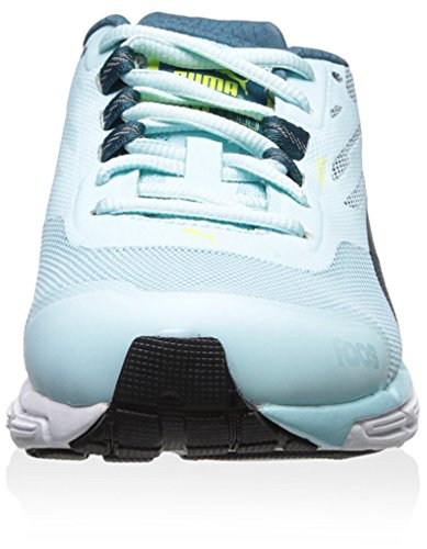 Puma Womens Faas 500 S V2 Sneaker Clearwater/Blue Coral/Sulphur Spring