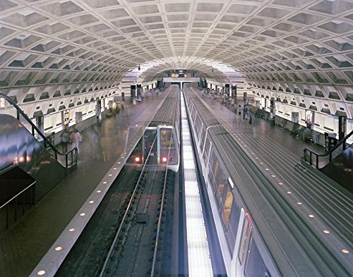 Photo: Red Line Metro Subway Train,Metro Center Station,Washington,DC,Carol - Dc Washington Metro Center