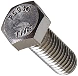 The Hillman Group 831618 3/8-16 x 1-Inch Stainless Steel Hex Cap Screw, 50-Pack