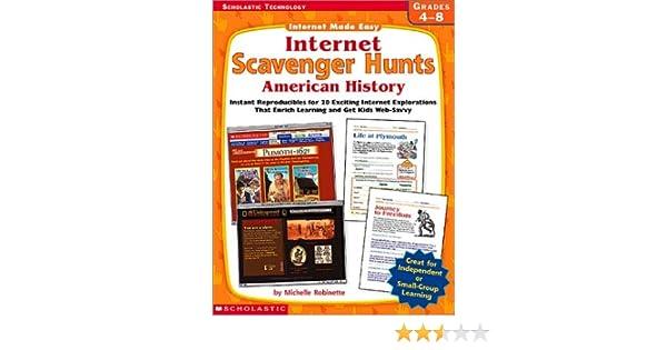 Amazon.com: Internet Scavenger Hunts: American History (Internet ...